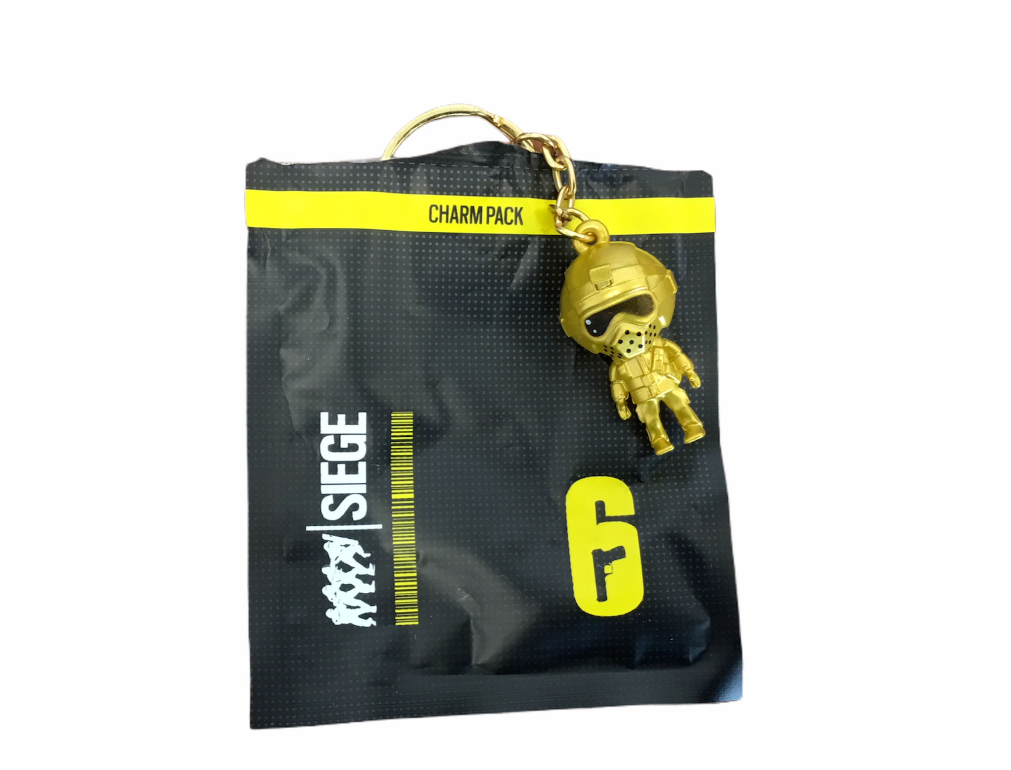 Rainbow Six Siege Keychain Golden Fuse