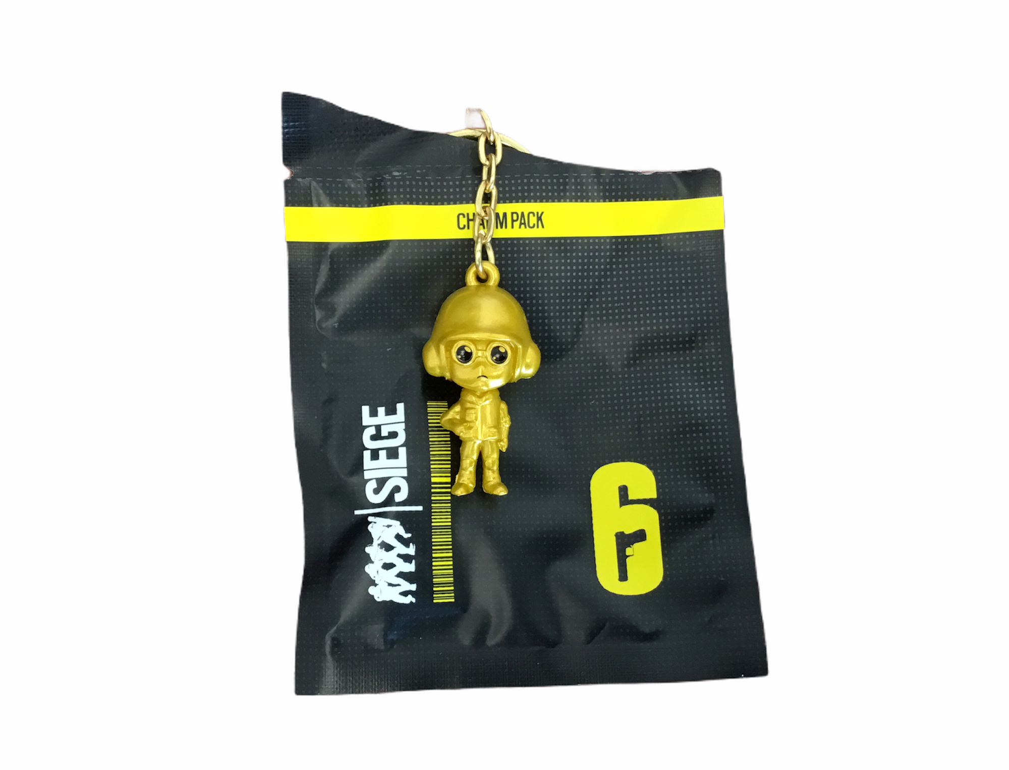 Rainbow Six Siege Keychain Golden Thermite