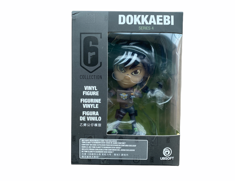 Rainbow Six Siege Collection Figurine Series 4 Dokkaebi Chibi