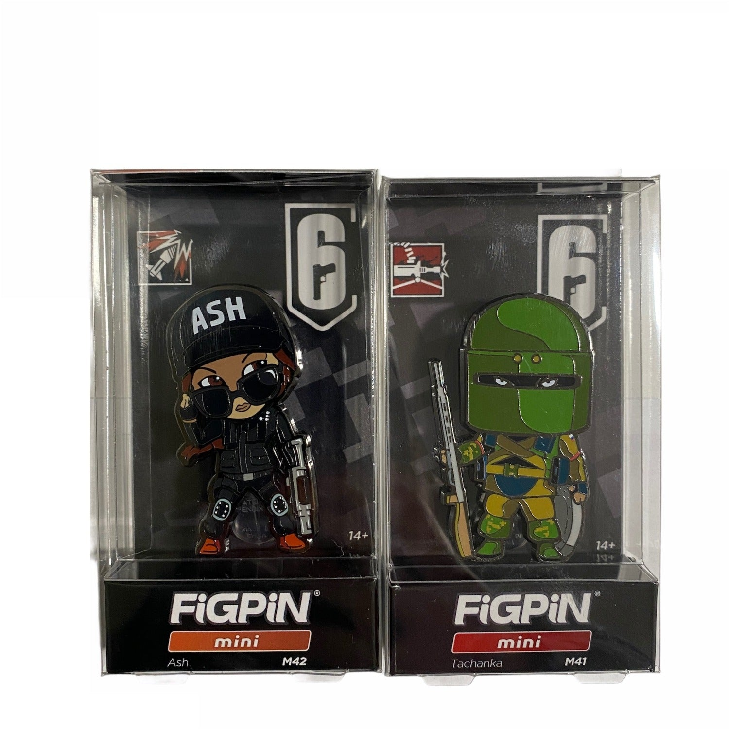 Rainbow Six Siege Collector Fig Pin Ash Tachanka -  E32019 Special Items