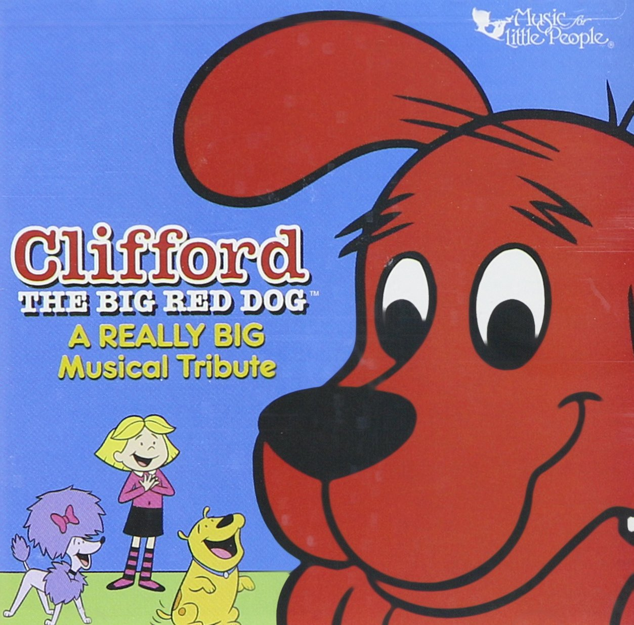 A Really Big Musical Tribute [Audio CD] Clifford the Big Red Dog