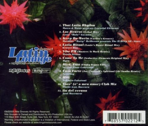 Abstract Latin Lounge [Audio CD] Various