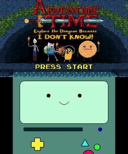 Adventure Time: Explore The Dungeon Because I don?t Know - Nintendo 3DS