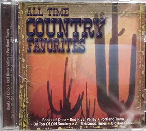 All Time Country Favorites (Mountain Hillbillies, Tennesee Riders) [Audio CD]