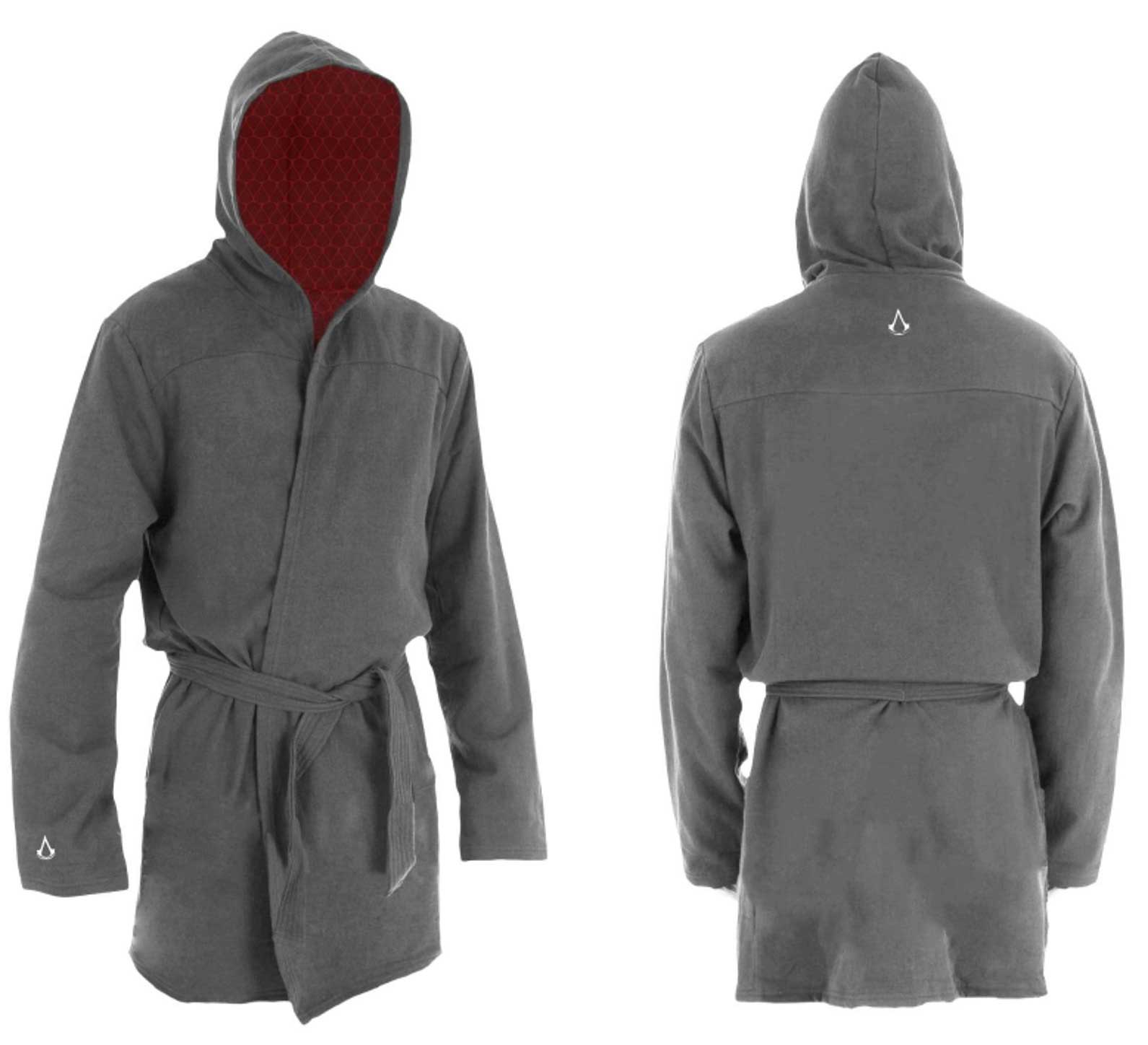 Assassin's Creed Kinetic - Bathrobe Grey - Large/X-Large
