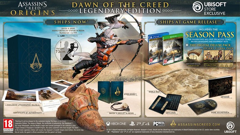Assassin's Creed Origins Dawn of the Creed - Legendary Edition