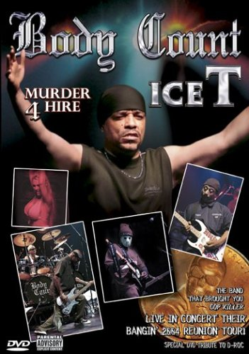 Body Count Featuring Ice T: Murder 4 Hire [DVD]