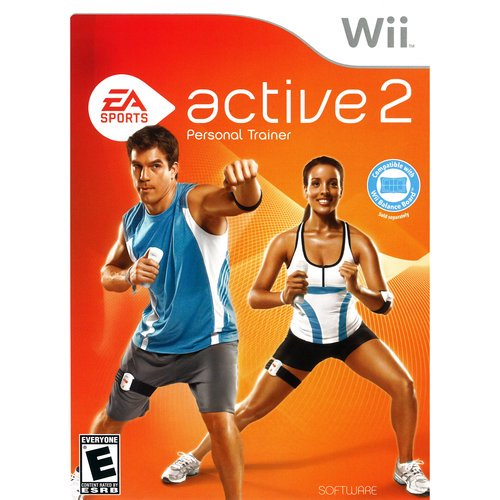Nintendo Wii Active 2 Personal Trainer Game T874