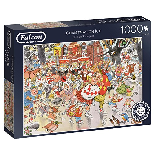 Christmas on Ice Falcon de luxe 11223 - 1000 Piece Jigsaw Puzzle