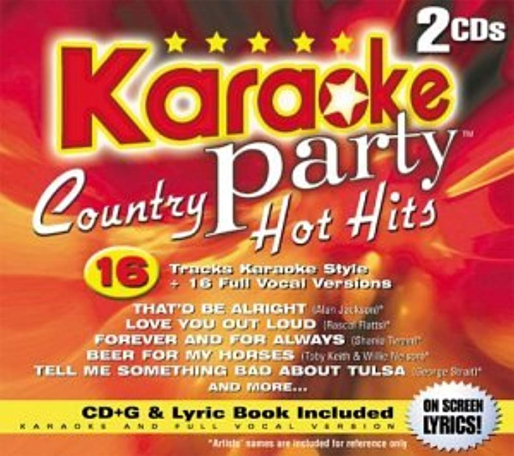Country Hot Hits [Audio CD] Karaoke Party!