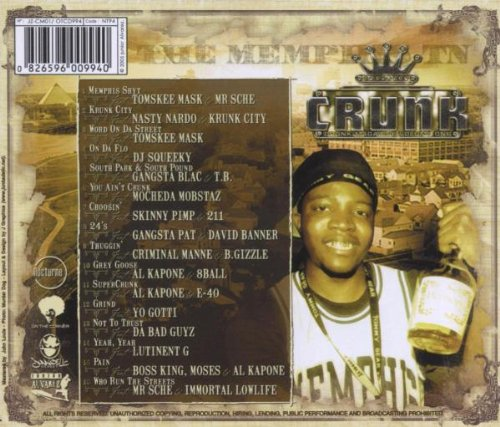 Crunk Magazine Volume One: the [Audio CD] Various