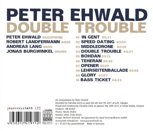 Double Trouble [Audio CD] Ewald; Ewald; Landfermann; Burgwinkel; Lang and Ewald; Landfermann; Burgwinkel