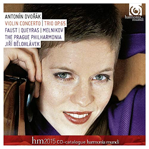 DVORAK. Violin Concerto & Trio. Faust [Audio CD] Isabelle Faust and Dvorák