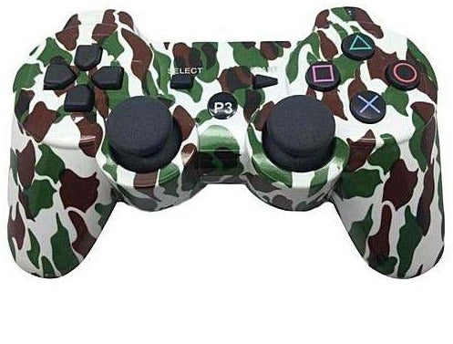 PS3 WIRELESS BLUETOOTH CONTROLLER CAMO (GENERIC)
