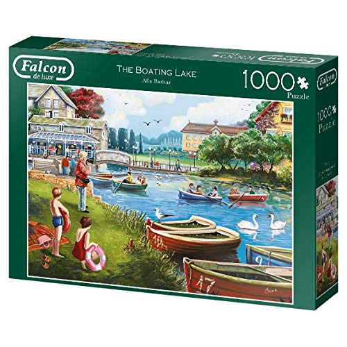 Falcon Deluxe The Boating Lake Jigsaw Puzzle (1000 Pieces)