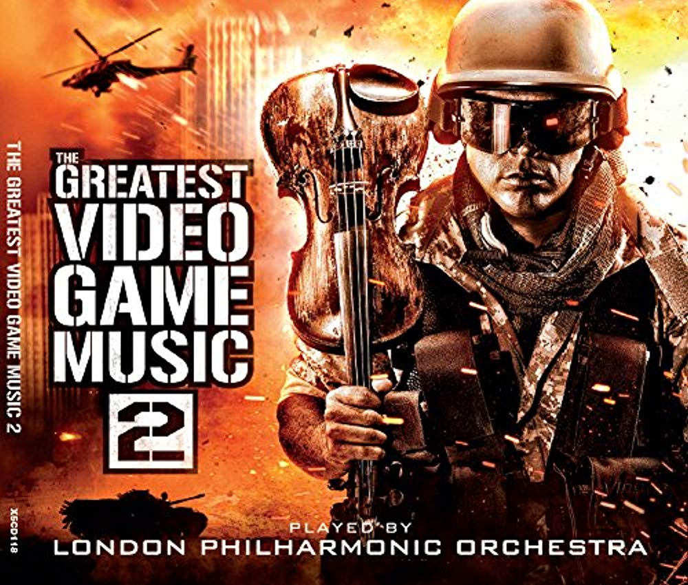 Greatest Video Game Music 2 [Audio CD] London Philharmonic Orchestra; Various and Andrew Skeet