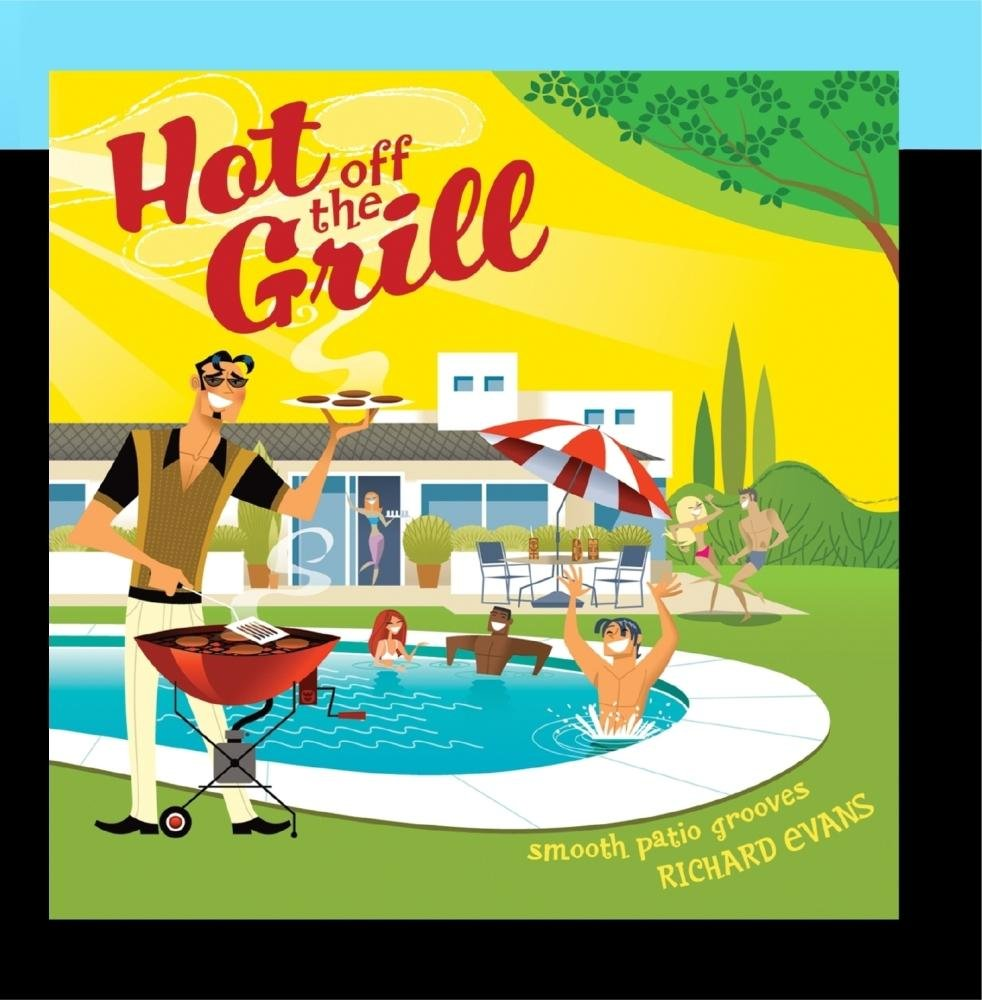 Hot Off The Grill [Audio CD] Evans, Richard