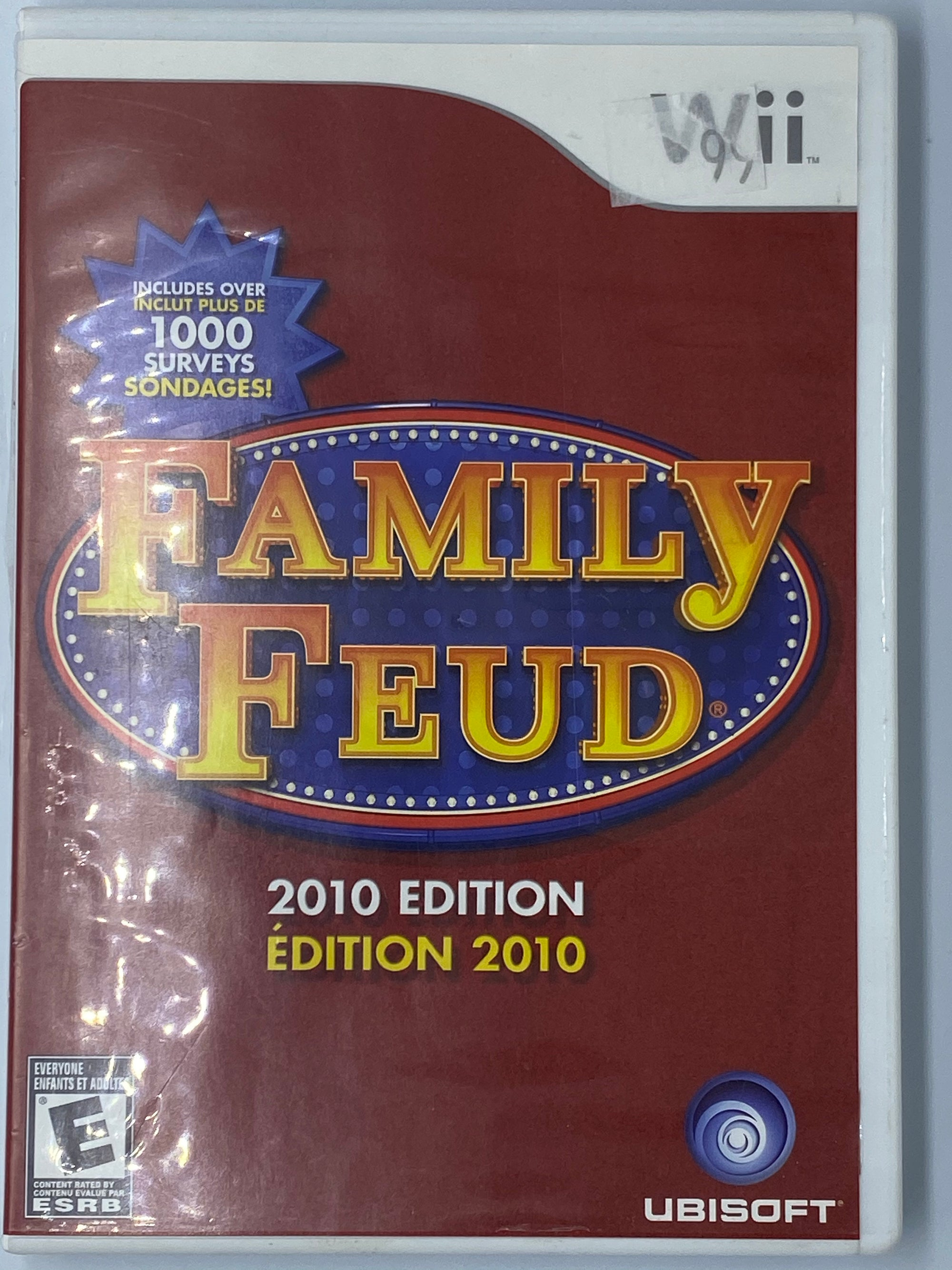 FAMILY FEUD 2010 EDITION - NINTENDO WII USED GAMES