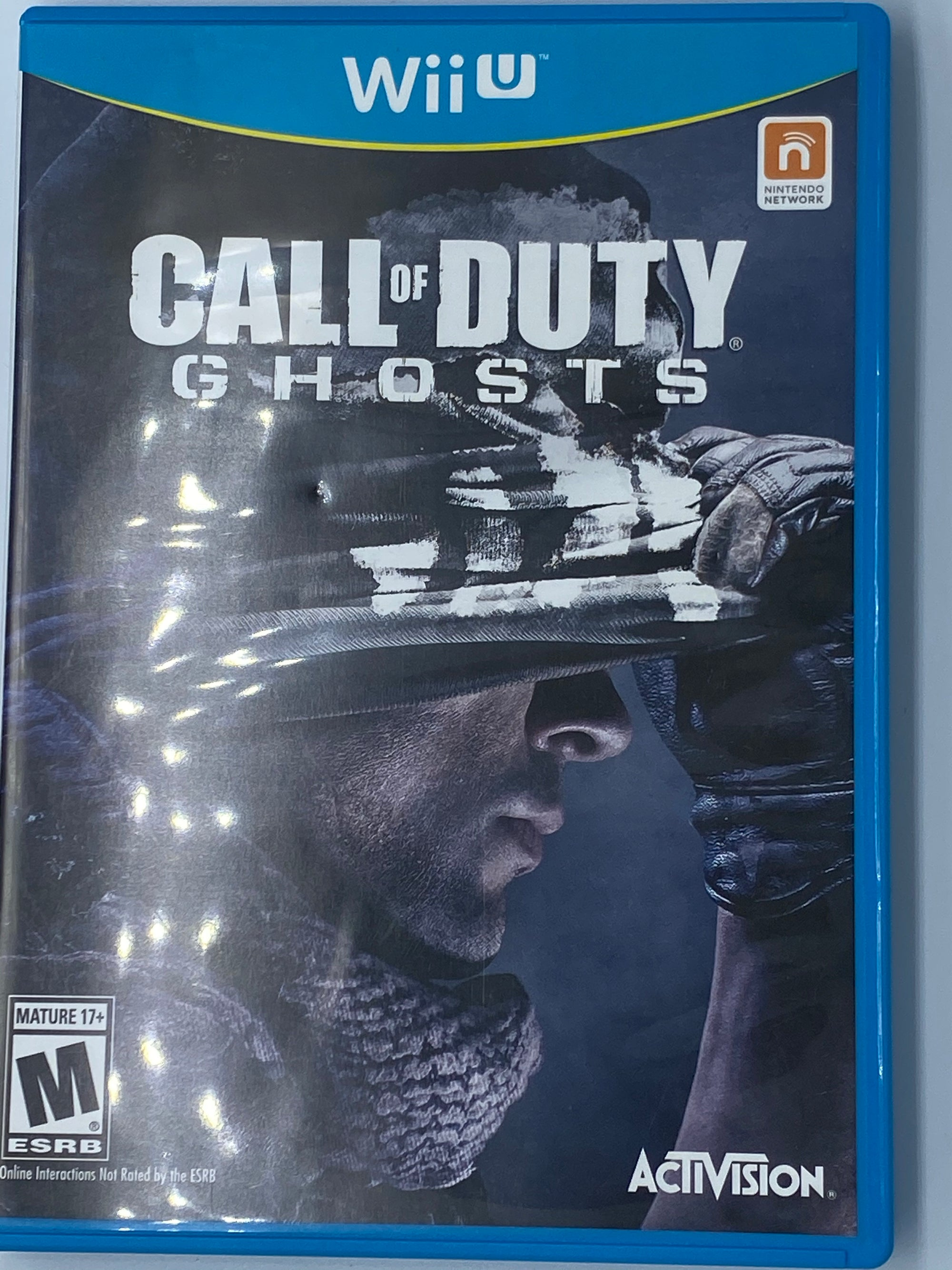 CALL OF DUTY GHOSTS - NINTENDO WII U - USED GAMES