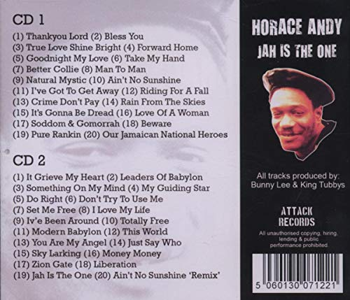 Jah Is The One [Audio CD] Andy, Horace