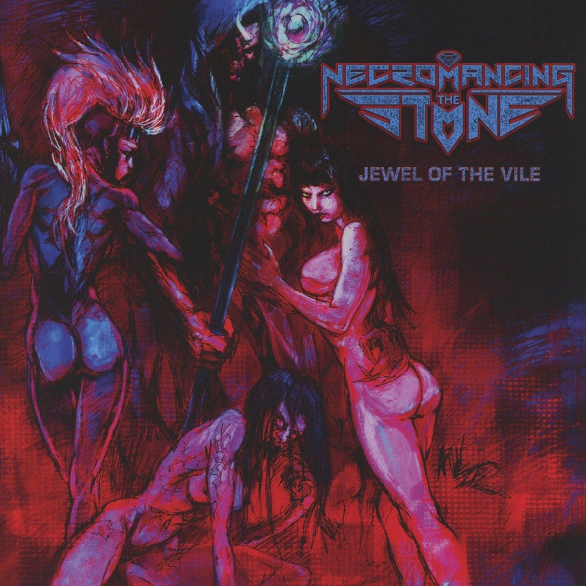 Jewel of the Vile [Audio CD] Necromancing The Stone