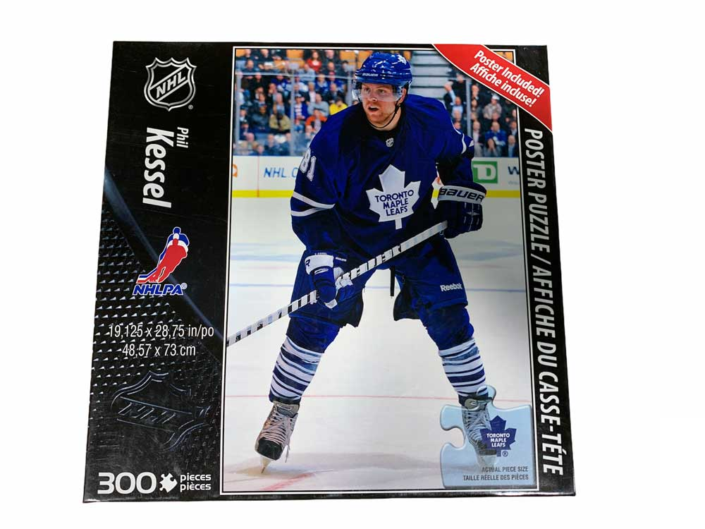 Jigsaw Puzzles 300 Pieces NHL Hockey Phil Kessel Toronto Maple Leafs - Poster Included