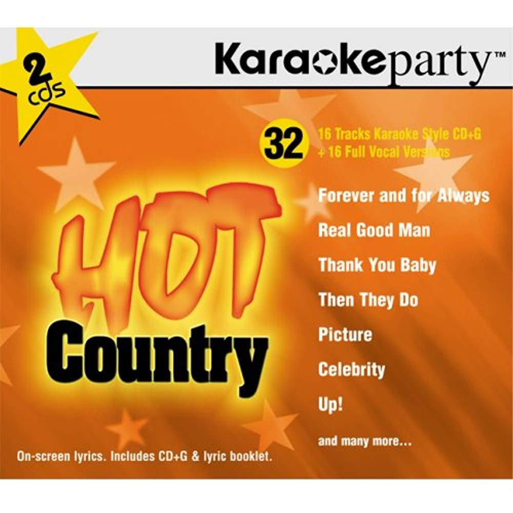 Karaoke Party: Hot Country [Audio CD] Various Artists