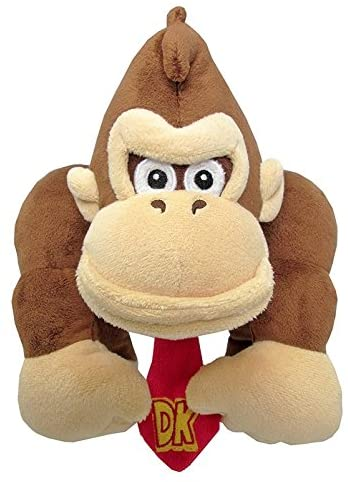 LITTLE BUDDY TOYS PLUSH DONKEY KONG 10'' (EXCLUSIVE)
