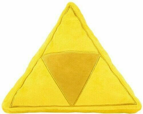LITTLE BUDDY TOYS PLUSH ZELDA TRI-FORCE CUSHION (EXCLUSIVE)