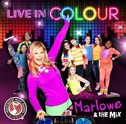Live In Colour [Audio CD] Marlowe & The Mix