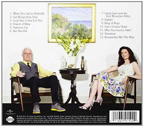 Love Has Come For You [Audio CD] Steve Martin & Edie Brickell
