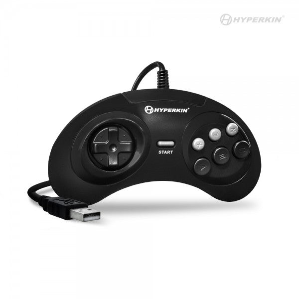 "CONTROLLER GENESIS USB FOR ""GN6"" PREMIUM PC/MAC (HYPERKIN) **ECO FEE**"