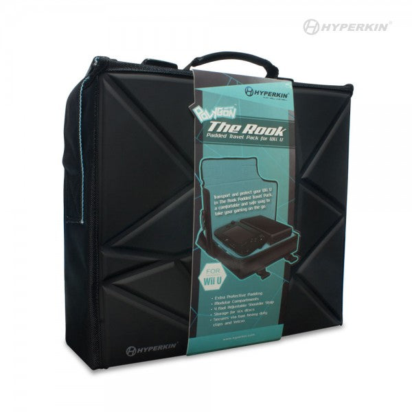 CARRYING CASE POLYGON (THE ROOK) PADDED TRAVEL BAG WII U (HYPERKIN)