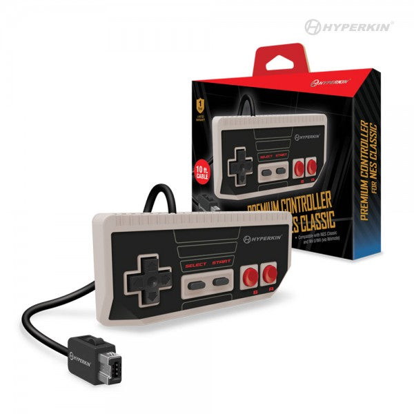 """Cadet"" Premium Controller for NES® Classic Edition/ Wii U®/ Wii® - Hyperkin"