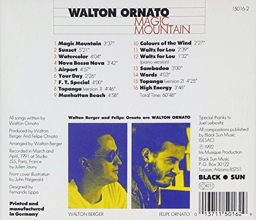 Magic Mountain [Audio CD] Walton Ornato