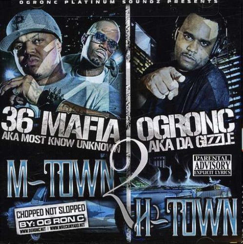 M-Town 2 H-Town [Audio CD] Og Ron C/Three 6 Mafia