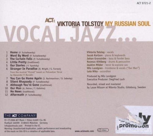 My Russian Soul [Audio CD] TOLSTOY,VIKTORIA