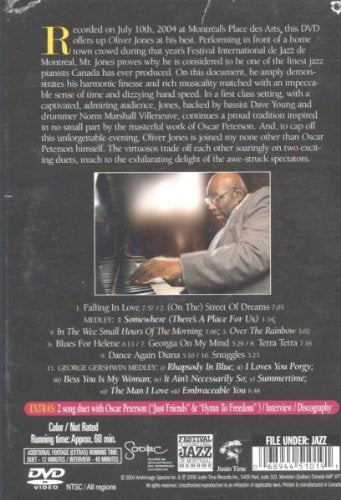 Oliver Jones: Serenade [DVD]
