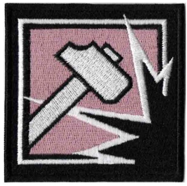 Operator Patch Set Sledge - Rainbow Six Collection - 2pcs