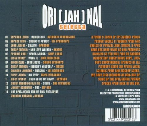 ori(jah)nal selecta [Audio CD] Various