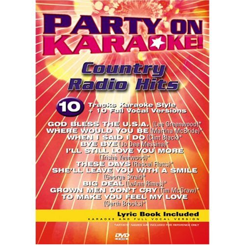 Party on Karaoke: Country Radio Hits [DVD]