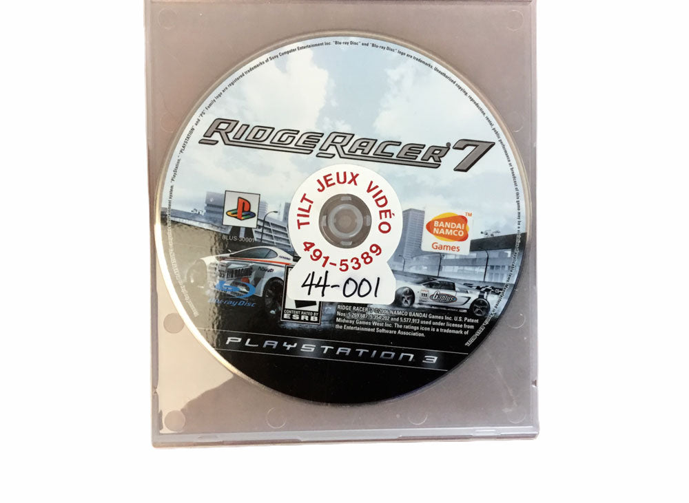 PS3 Ridge Racer 7 Video Game T991
