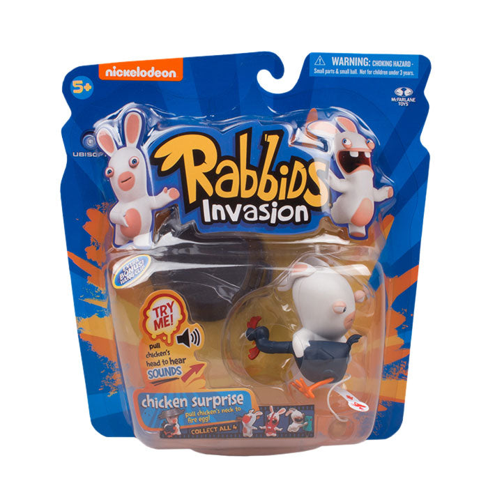 Rabbids Sound and Action Chicken Surprise Figure