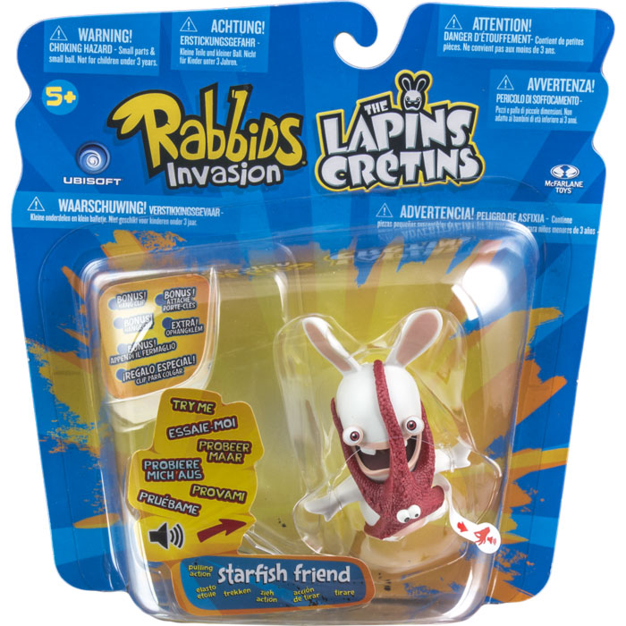 Rabbids Sound and Action Starfish Friend