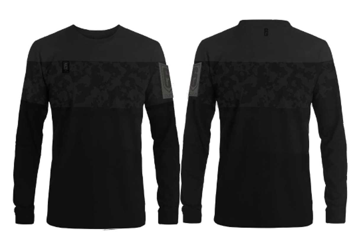 Rainbow Six - Classic Longsleeve Sweater Black