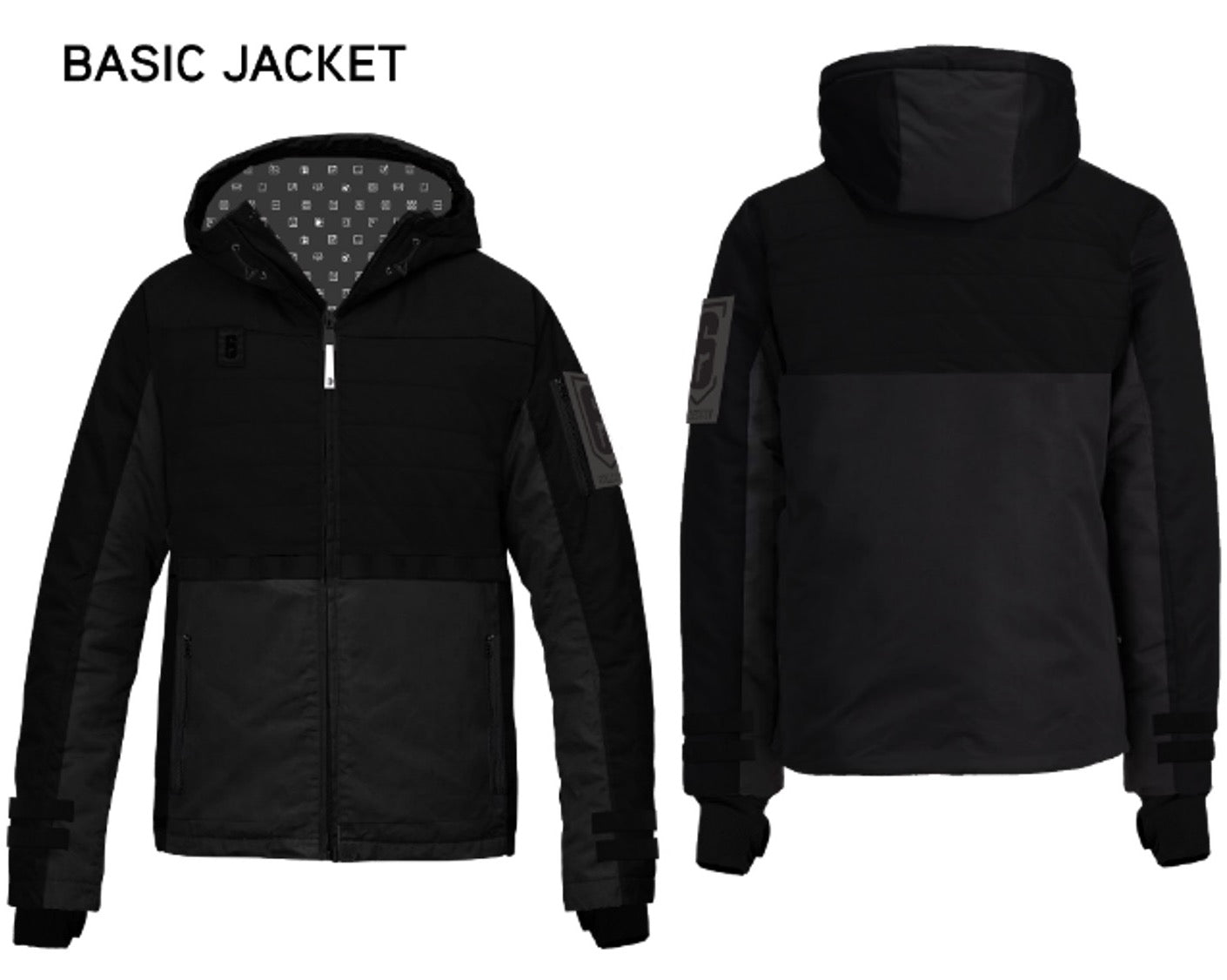 Rainbow Six Collection Classic Operator Jacket Black