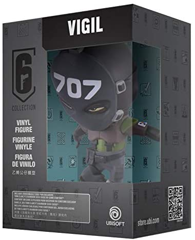 Rainbow Six Siege Collection Figurine Series 3 Vigil Chibi Figurine