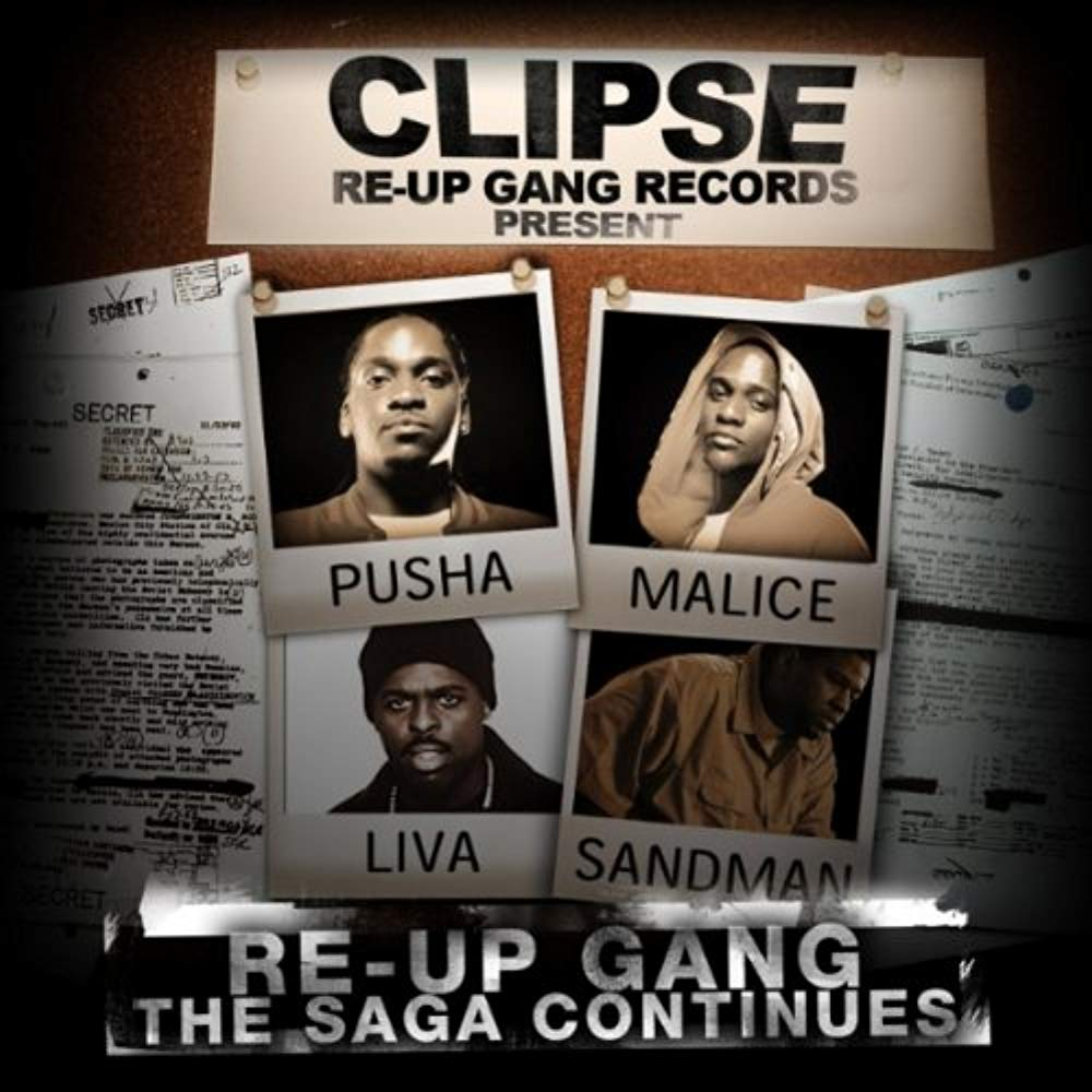 Re-Up Gang The Saga Continues - The Official Mixtape - Remixed & Remastered [Audio CD] Clipse