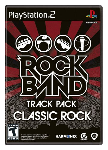 PS2 Rock Band Track Pack Classic Rock PlayStation 2 T1120