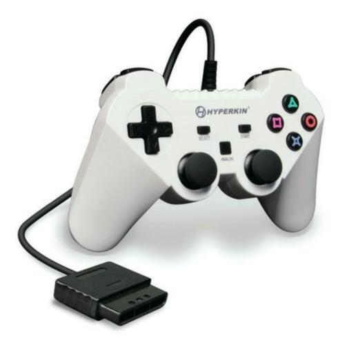 CONTROLLER PS2 PREMIUM WARRIOR (WHITE (HYPERKIN) ****ECO FEE***